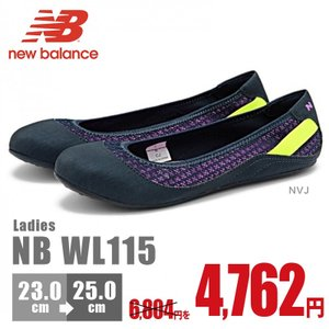 ニューバランス New Balance NB WL115 NVJ ウォーキング シューズ スニーカー 最新作 靴 激安 レディース ウィメンズ バレエ 軽量|nankyu