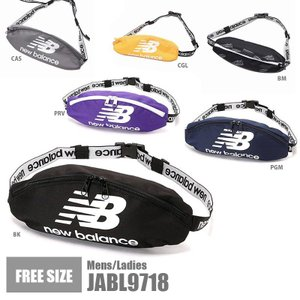 ニューバランス ウエストポーチ New Balance JABL9718 スポーツバッグ カジュアル...