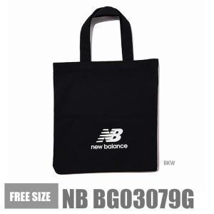 ニューバランス トートバッグ プールトート バッグ New Balance BG03079G 黒 ブ...