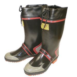 【福山ゴム】ジョルデックセーフティDX2 ブラック 長靴|nankyu
