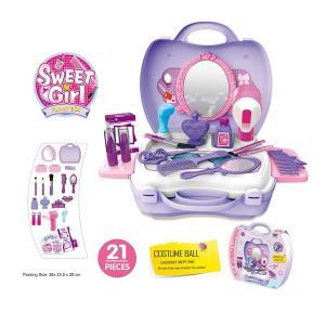 おもちゃ の ままごと セット 女の子 用 なりきり お化粧 道具 メイクボックスセット【NEW】