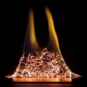 グローメタルファイバー 5g バイオエタノール暖炉用アクセサリー 繰り返し使える 金属繊維|nano1
