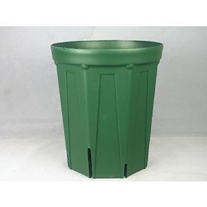 8号ロングスリット鉢(CSM240L)モスグリーン3個セット|nano1
