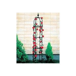日本製 オベリスク 直径40cm×高さ220cm(埋め込み時200cm) BK-220 植木鉢 鉢 バラ ばら 薔薇 園芸 庭 ガーデニング|nano1