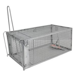 iimono117 小動物捕獲器 アニマルトラップ/ネズミ駆除 害獣 駆除 動物捕獲器 捕獲器 箱罠 トラップケージ 踏み板式 (S) nano1