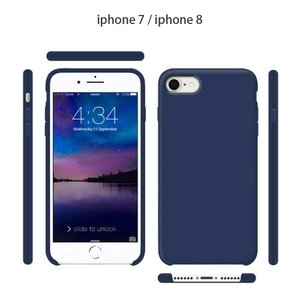 ZLgoods For iPhone 8 ケース iPhone 7 ケース アイフォン8/7 カバー まねる液体シリコン素材 おしゃれ 滑り nano1