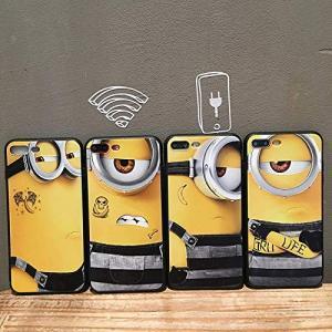 ミニオン スマホケース iPhone7 iPhone8 iPhone7plus iPhone8plus iPhoneX ケビン スチュアート nano1