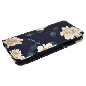 rienda 「プリント手帳ケース」 iPhone8/7/6s/6 iPhoneX/XS iPhon...