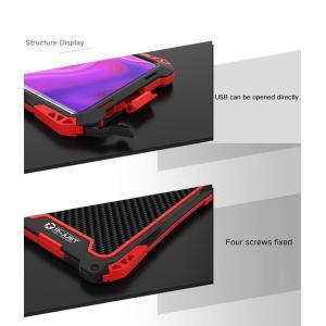 Galaxy S10 Plus ケース OURJOY ギャラクシーS10+ ケース 金属フレーム保護...