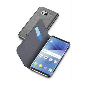 Cellularline Galaxy S8 ケース 手帳型 大人 ギャラクシーS8 ブラック BO...
