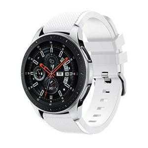 Samsung Galaxy Watch 46mmバンド Comtax 22mm シリコン製 交換用バンド Samsung Galaxy W|nano1