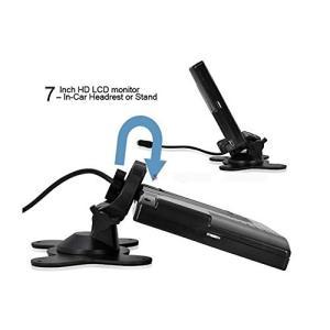 A0119N搭載7インチバックカメラセット 12V専用7インチバックモニター+a0119nバックカメ...