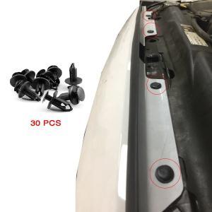 オーパフロントグリルプラスティックボルトチューブホールカバーキット07-17 ジープラングラー&ラン...