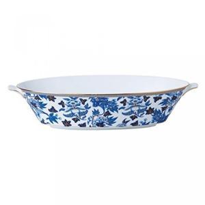 食器 ウエッジウッド Wedgwood Hibiscus Oval Serving Bowl
