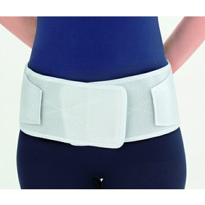 ○竹虎 ランバック ホワイト Sサイズ【医療用★腰部固定帯】|nanohanadrg