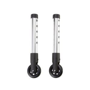 キャスター  歩行器用 前脚 直進 固定 キャスター  軽量   固定型歩行器用キャスター PHK-1|nanohanakaigo