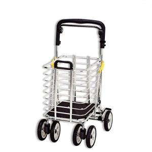 シルバーカー ショッピングカート  大容量 ワゴン 袋なし ノーブルワゴン(L) NBW-1L|nanohanakaigo