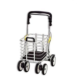 シルバーカー ショッピングカート  大容量 ワゴン ノーブルワゴン(S) NBW-1S|nanohanakaigo