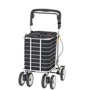シルバーカー ショッピングカート  大容量 ワゴン 袋付き  ノーブルワゴン(L) NBW-2L|nanohanakaigo