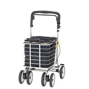 シルバーカー ショッピングカート  大容量 ワゴン 袋付き ノーブルワゴン(S) NBW-2S|nanohanakaigo