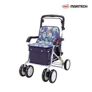 シルバーカー  ボックスタイプ おしゃれ カバー ノーブル 青花柄 ENB-011H|nanohanakaigo