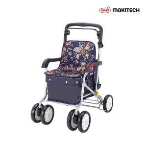 シルバーカー  ボックスタイプ おしゃれ カバー  ノーブル ローズ ENB-011RF|nanohanakaigo