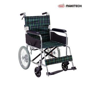 車椅子 介助式車椅子  折りたたみ ノーパンクタイヤ 背折れ  車いす エコノミーシリーズ EW-30GN nanohanakaigo