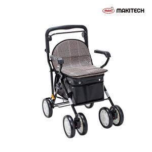 シルバーカー  ボックスタイプ おしゃれ カバー ノーブルプラス 黒チェック NBP-2KC |nanohanakaigo