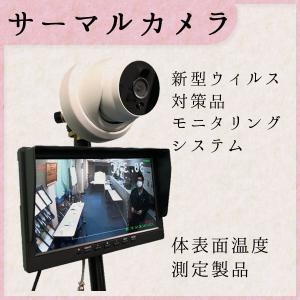 サーマルカメラ 非接触 体温計 検温器 サーモカメラ 日本語音声ガイド ショップ ホテル 病院 オフィス イベント会場 NS-P7220TP  |nanohanakaigo