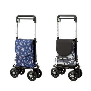 ショッピングカード 買い物キャリー どこでもキャリー RS-300MGY RS-300KH コンパクト おしゃれ スタイリッシュ|nanohanakaigo
