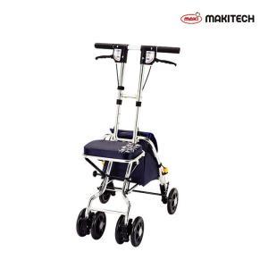 シルバーカー  コンパクト おしゃれ カバー 軽量 ソナタ  紺花柄  SX-2NF|nanohanakaigo