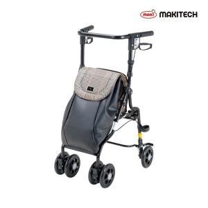 シルバーカー  U字 U字型ハンドル おしゃれ カバー アンティ 黒チェック UX-2KC|nanohanakaigo