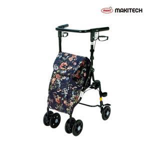 シルバーカー  U字 U字ハンドル おしゃれ カバー アンティ ローズ UX-2RF|nanohanakaigo