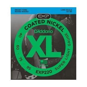 Daddario ダダリオ ダダリオ コーティング・ベース弦 EXP220 1セット 仕入先在庫品|nanos