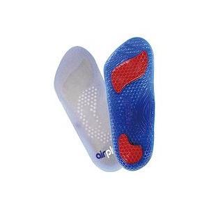 アズワン 呼吸するジェルインソール 3/4サイズ 男性用フリー 2個入  取り寄せ商品|nanos