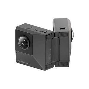 - 折りたたんで360度撮影できるハイブリットアクションカメラ Insta360 EVO 目安在庫=...