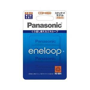 パナソニック Panasonic エネループ 単3形 4本パック(スタンダードモデル) 目安在庫=○
