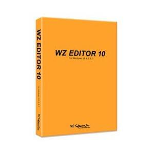WZソフトウェア WZ EDITOR 10 CD-ROM版(対応OS:その他) 目安在庫=○