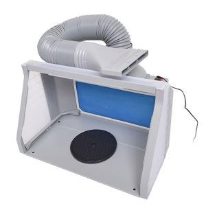 サンコー LEDライト付パワフルファン塗装ブース デラックス BRUSHBT5 取り寄せ商品 nanos