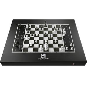 チェス駒が自動で動くスマートチェスボード Square Off - Black Edition SQF-GKS-B21 取り寄せ商品|nanos