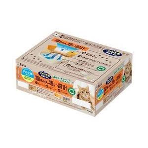 花王(kao) ニャンとも清潔トイレ 子ねこ用セットアイボリオレンジ 1組 取り寄せ商品 nanos