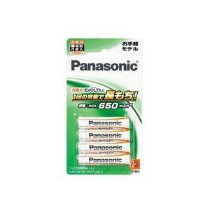 パナソニック 充電式エボルタ単4形4本パック(お手軽モデル) BK-4LLB/4B 目安在庫=○ nanos