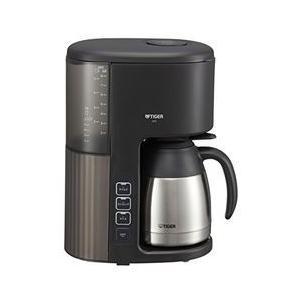 タイガー魔法瓶 コーヒーメーカー 真空ステンレスサーバータイプ カフェブラック 取り寄せ商品|nanos