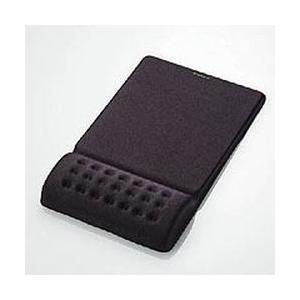 【ディンプル加工でさらに快適、手首の疲労を軽減するリストレスト一体型マウスパッド。】 検索キーワード...