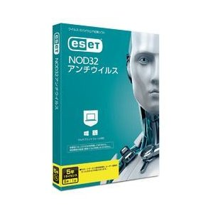 ESET ESET NOD32アンチウイルス 5年1ライセンス(対応OS:WIN&MAC) 取り寄せ商品 nanos