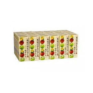 シャイニー 青森の味! ミックスジュース 果実のおもてなし ゆずりん スリムパック 200ml【24本】 目安在庫=○|nanos