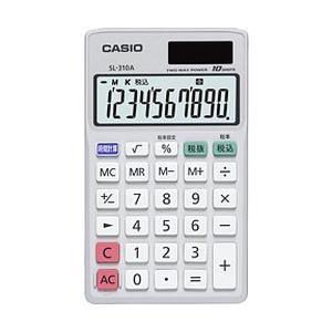 カシオ計算機(CASIO) 手帳タイプ電卓 SL-310A-N メーカー在庫品