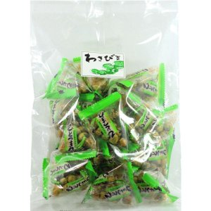 わさび豆テトラパック 160g×10 グリンピースの豆菓子個包装タイプ ケース販売