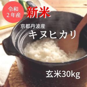 京都丹波産キヌヒカリ 令和元年 玄米30Kg|nantan-smile