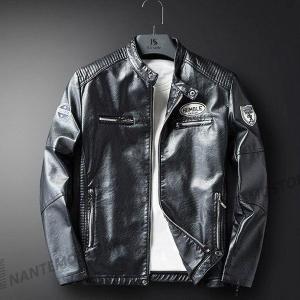 メンズ ライダース 革ジャン 大人気 裏ボア 裏起毛 厚手 レザーコートジャケット 4色 大きいサイ...